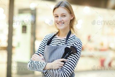 Cosmetics clerk