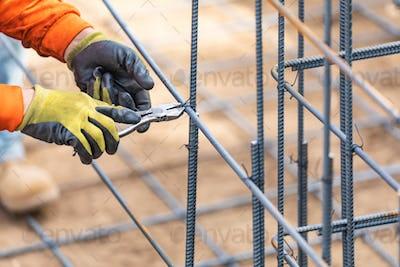 Rebar Installation Construction