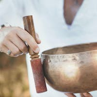 Sound Therapy with Tibetan Singing Bowl