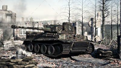 German ww2 tank