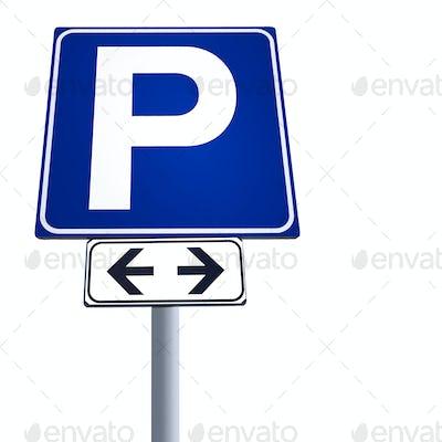 Free parking signal