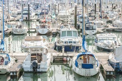 yacht and boat marina