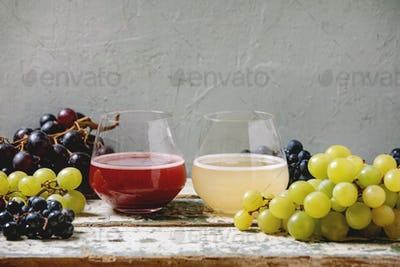 New red and white wine Federweisser