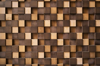 Modern Abstract Wooden Background.