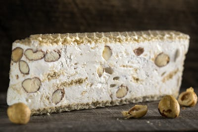 nougat with nuts