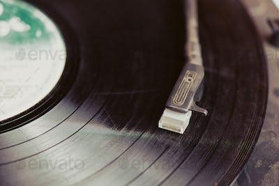 Vintahe record player