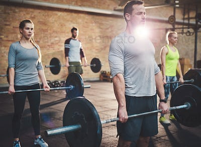 Lifting with the group