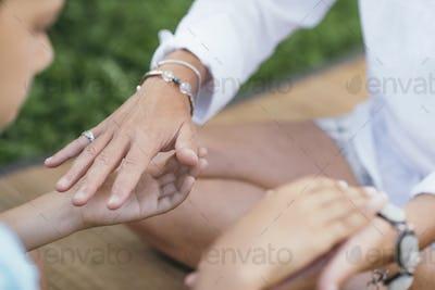 Healing Hands of a Spiritual Healer
