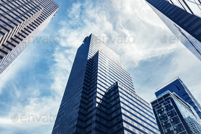 Highrise buildings in Philadelphia, the USA