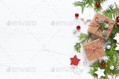 Christmas, X-mas, Xmas, New Year or Noel holiday gifts