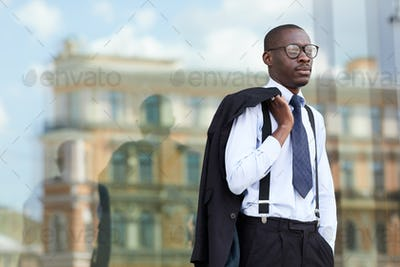 Young African-American Businessman