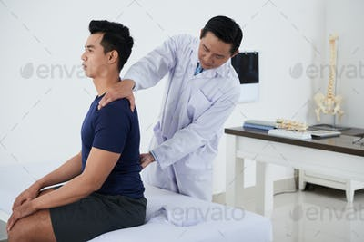 Checking spine