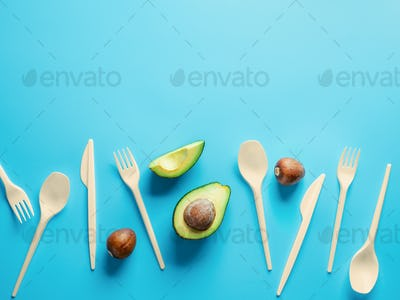 Avocado Seeds Biodegradable Single-Use Cutlery