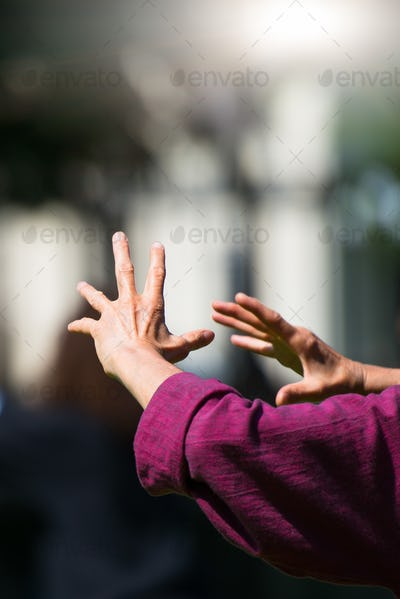 Practice of tai chi chuan