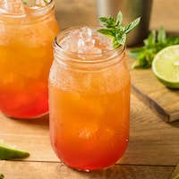Homemade Sweet Planters Punch