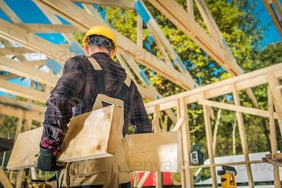 Construction Carpenter Worker