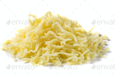 heap of grated mix Italian cheese