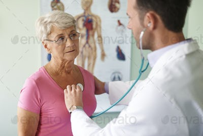 Control visit in the doctor