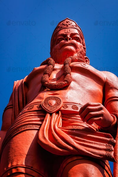 World's tallest statue of Lord Hanuman, India