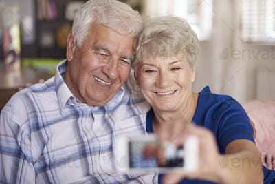 You are never too old to take a selfie