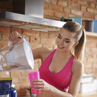 Protein drink is base of my nutrition