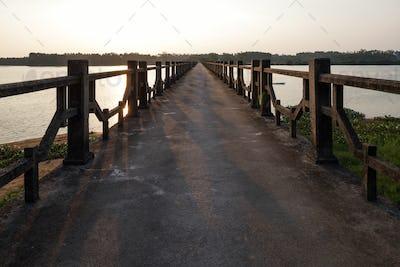 bridge of the lake