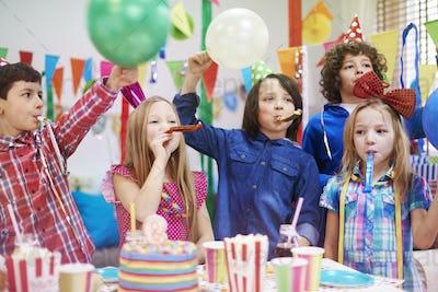 Celebration of ninth birthday our friend