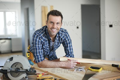 He is the best carpenter in town