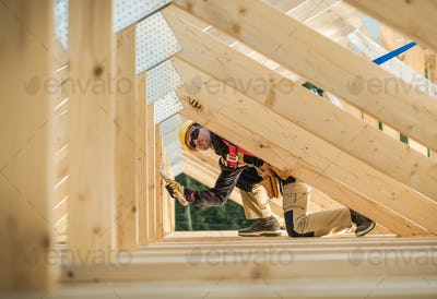 Working Construction Contractor