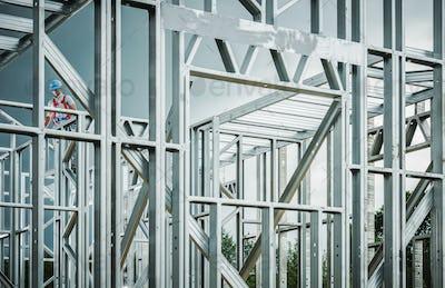 Steel House Frame Development