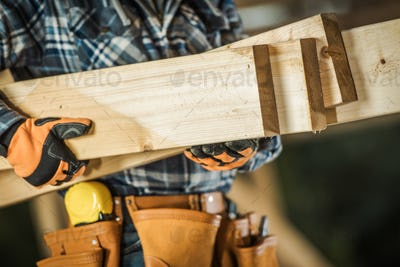 Contractor with Wood