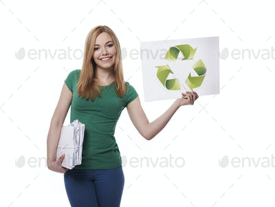 Do not forget about recycling