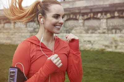 Running is great morning cardio