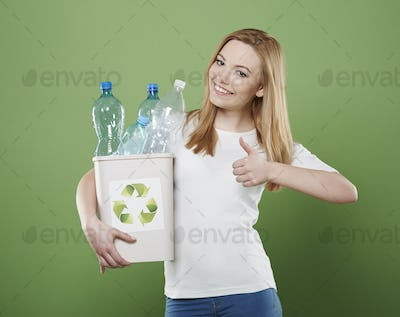 The recycling is step for great future