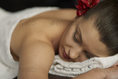 Take care about body at spa