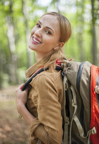 Let's go hiking with me!