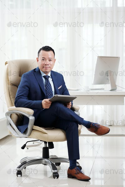 Successful business executive