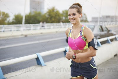 Jogging is not only my passion but also a lifestyle