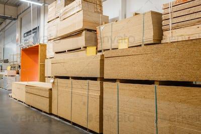 Hardware store assortment, packs of chipboard