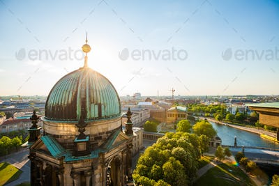The Berliner Dom and River Spree