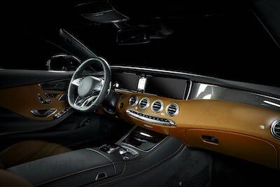 Luxury Car Inside Interior