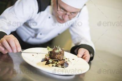 Focus on the good quality steak