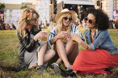 Gossips during the summer festival