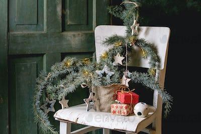 Christmas ceramic stars