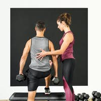 Female personal trainer in a gym