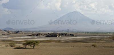 Tanzani volcano, Ol Doinyo Lengai, Tanzania, Africa