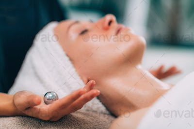 Face Lymphatic Drainage with Chinese Meditation Balls