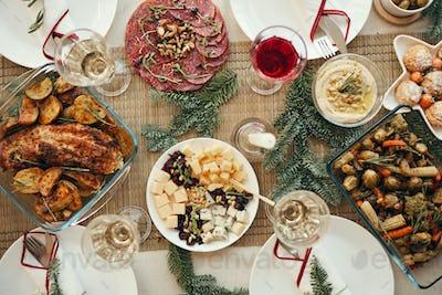 Christmas Dinner Tabe