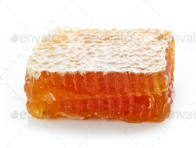 piece of natural honey