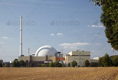 Nuclear Reactor Building